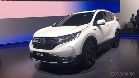 Honda Cr-v Hybrid Showcased