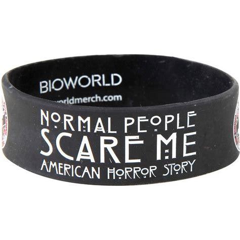 american horror story normal people rubber bracelet hot