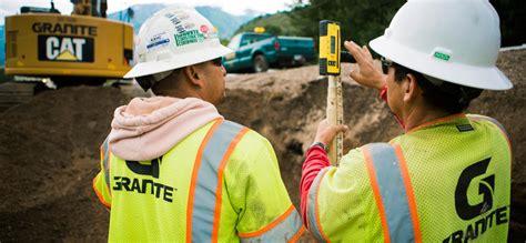 careers granite construction