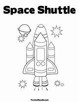 Space Coloring Shuttle Preschool Pages Theme Outer Activities Astronaut Nasa Exploring Story Printable Sheets Template Easy Colouring Spaceship Craft Crafts sketch template