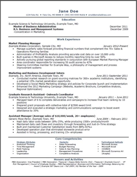 1000 images about mba resumes on resume