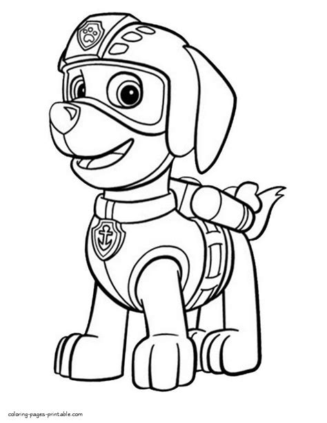 Kleurplaat Paw Patrol Zuma by Print Paw Patrol Coloring Pages Zuma Coloring Pages