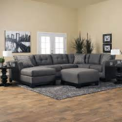 livingroom sectionals romero living room sectional jerome 39 s furniture