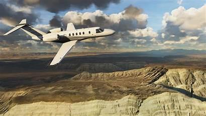 Microsoft Simulator Flight Screenshots Airplanes Cockpits Landscapes