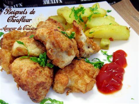 cuisine chou fleur beignets de chou fleur amour de cuisine