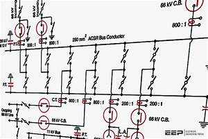 Single Line Diagrams Of Substations 66  11 Kv And 11  0 4 Kv