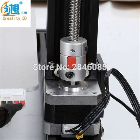 creality cr   axis  mm jaw shaft coupler mm  mm flexible coupling router
