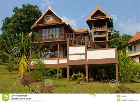 koh mak cottage house stock image image of relax hotel nobody