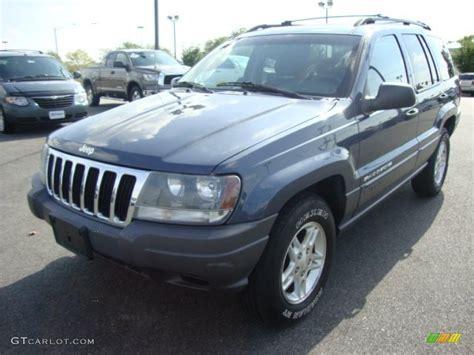2002 steel blue pearlcoat jeep grand laredo 4x4 32898443 gtcarlot car color