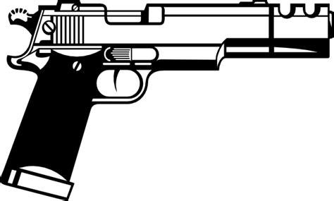 policeman with gun clipart black and white gun clip at clker vector clip