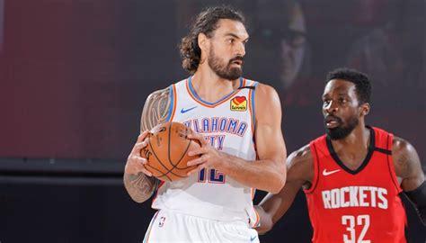 NBA Playoffs: Steven Adams' OKC Thunder slump to second ...