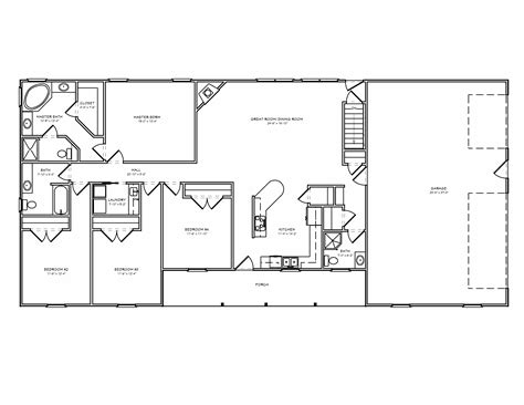 best floor plans for homes best ranch style floor plans ideas house sun room and open