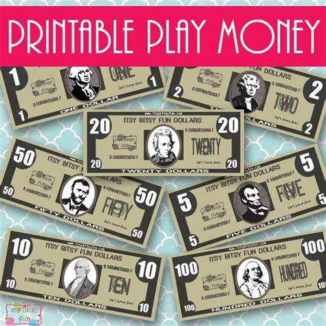 realisitc printable play money itsybitsyfuncom