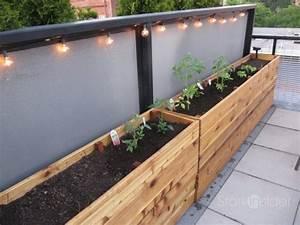 DIY Project: Vegetable Planter Box (plans, photos) Stark