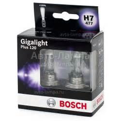 bosch plus 120 gigalight bosch h7 gigalight plus 120 1987301107 галогеновые лампы купить в интернет магазине авто