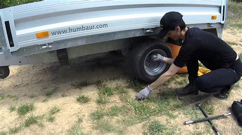 remorque cuisine barbot technique de remplacement d 39 une roue de remorque