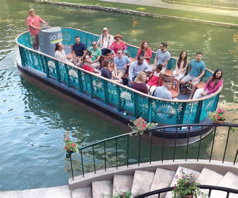 Riverwalk Boat Ride Prices by San Antonio River Walk Boat Tours With Go Cruises