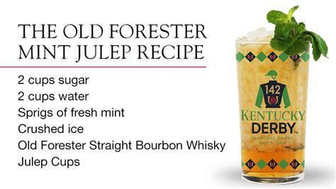 mint julep recipe the authentic kentucky derby mint julep recipe