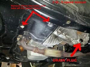 Diy  2 0l 5-speed Transmission Oil Change