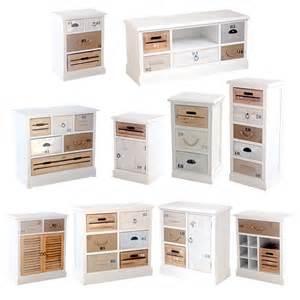 Mobili ingresso stile shabby : Arredamento mobili e cassettiere in legno multicolore