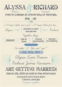 wedding invitations long story short at mintedcom With wedding invitation short text
