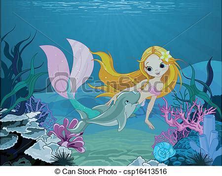 mermaid  dolphin background cute mermaid swimming