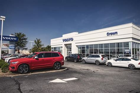 crown volvo car dealership  greensboro nc