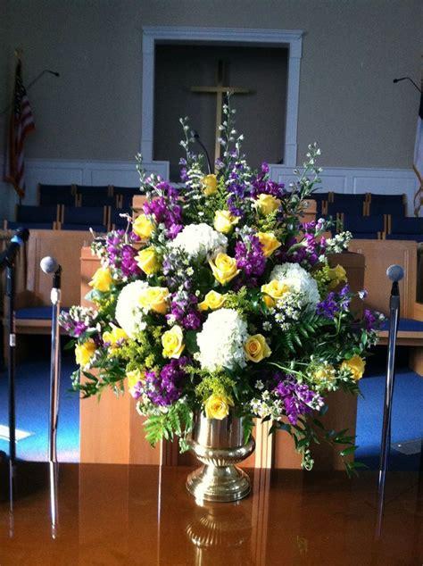 ideas  church flower arrangements  pinterest