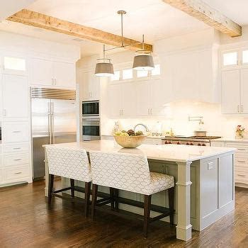 Long Kitchen Island Design Ideas
