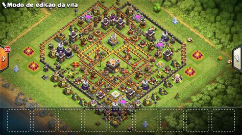 conta clash of clans cv 11 dfg