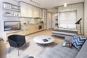 Kleine Wohnung Einrichten Ideen : kleine wohnung einrichten 30 ideen f r optimale raumnutzung ~ Lizthompson.info Haus und Dekorationen
