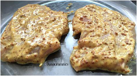 escalopes de dinde miel moutarde annagrammes cuisine