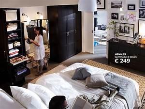 Chambre 9m2 Ikea : chambre adulte ikea photo 3 15 une chambre coucher ~ Melissatoandfro.com Idées de Décoration