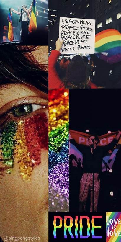 Harry Artsy Collage Wallpapers Backgrounds Pride Direction