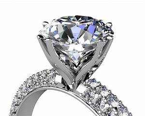 man made diamonds as one of the largest diamond engagement With biggest diamond wedding ring