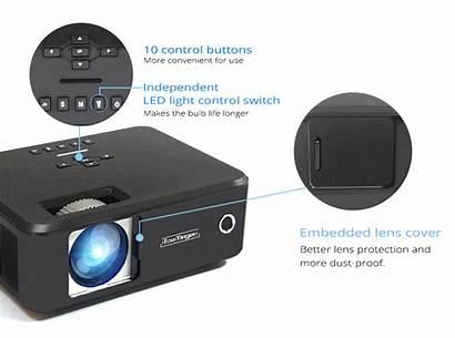 Projector Multimedia Practical Everycom 3d