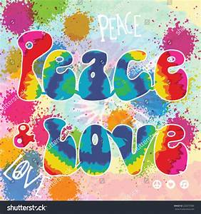Hippies clipart peace and love - Pencil and in color ...