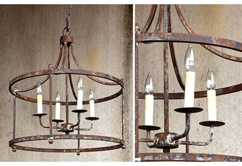 rustic chandelier pendant light farmhouse