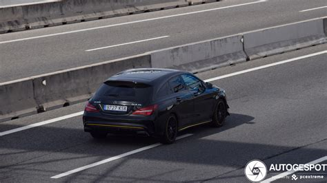 Look for a debut of the redesigned cla45 shooting brake later this year. Mercedes-AMG CLA 45 Shooting Brake X117 Yellow Night ...