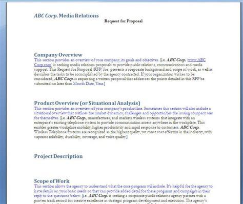 Rfp Template Part Vba Macro Aris For Rfp Sow Design Document