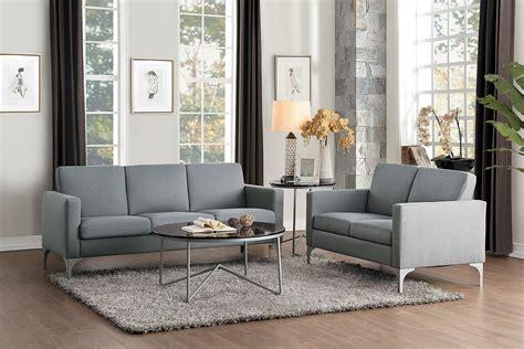 livingroom soho soho living room set light gray by homelegance