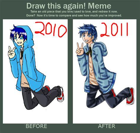 Draw This Again Meme - draw again meme by sapphire blossom mai on deviantart