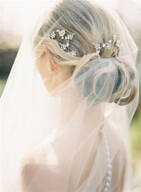 elegant wedding hairstyles  exquisite headpieces