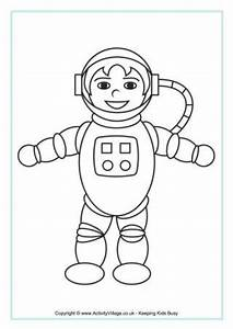 Simple Astronaut Template - Pics about space