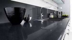 Plan De Travail Com : plans de travail en quartz cuisines lapeyre ~ Melissatoandfro.com Idées de Décoration