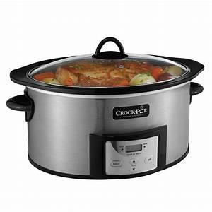 Crock-Pot® 6-Quart Slow Cooker with Stovetop-Safe Cooking ...