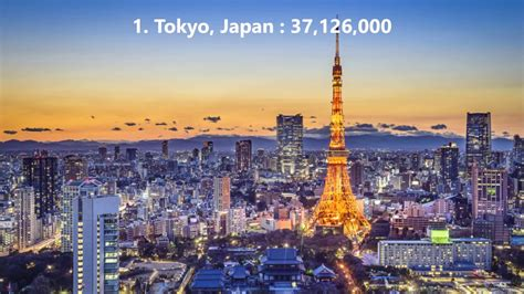 Top 10 Biggest Cities / Area In The World 2017