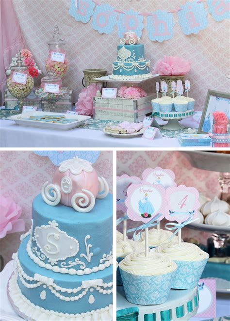 Cinderella Birthday  Sweetly Chic Events & Design