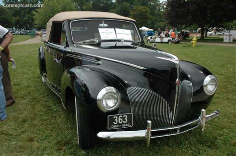 1940 Lincoln Zephyr  Information And Photos Momentcar