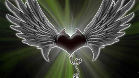 heart  wings wallpaper wallpapersafari